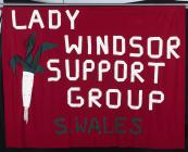 Banner of the Lady Windsor Colliery Support...