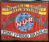 Banner of the National Union of Railwaymen,...