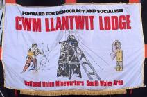 Banner of the National Union of Mineworkers,...