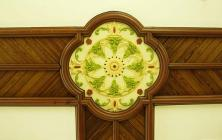 Detail from ceiling of Tabernacl Baptist Chapel...