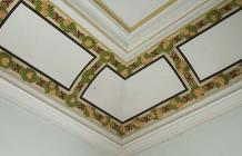 Detail from corner of ceiling, Tabernacl...
