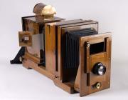 Lantern slide projector, from Swansea, early...