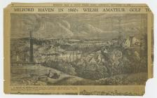 Illustration of Milford Haven from the Western...