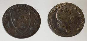 South Wales farthing, 1793