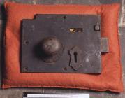 Prison lock from Ruthin Gaol, 19th Century