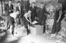 Salvage squad organised by Welshpool Boys Club,...