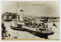 'Landing Stage, Porthcawl', showing...