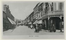 John Street,  Porthcawl, tua 1900
