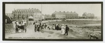 Esplanade Hotel and Terrace, Porthcawl, c.1900