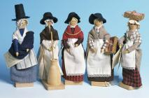 Welsh dolls, made by 'C Squared Toys'...