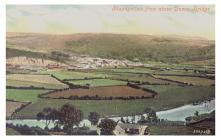 A view of Machynlleth