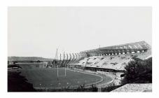 The construction of the National Stadium at...