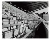 Stand y Gogledd, Parc yr Arfau, Caerdydd, 1970