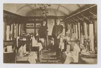 Dining Car of the GWR Ocean Express, 1890s