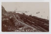 Fishguard Harbour Station, c.1900