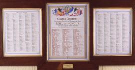 Roll of Honour, Celynen Collieries Workmens&...