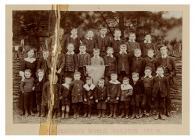 Disgyblion Ysgol Penegoes, 1911