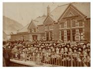 Opening of Machynlleth Junior School, 1903