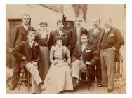 Wedding of John Jones of Uwchygarreg and...