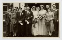 Marriage of Caradog Jones-Davies and Mary...