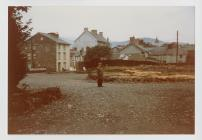 Photograph of the land surrounding Plas...