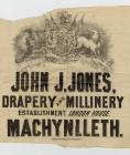 A paper bag from John J. Jones, Drapery and...