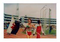 Kirsty Wade, Welsh middle-distance runner, c.1980s