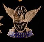 Penydarren Cycling Club badge, early 20th century
