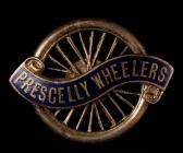 Prescelly Wheelers Cycling Club badge, early...