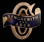 Senghenith and Aber Cycling Club badge, early...