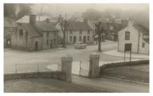 View from Machynlleth Chest Hospital c.1950