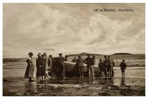 A group about to set off for Bardsey from...