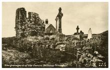 The graveyard of the Saints, Bardsey Island