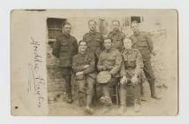 Photograph of Rifleman Albert Edward Rees,