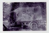 Photograph of British Red Cross Van