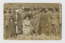Photograph taken sometime between 1914-1918.