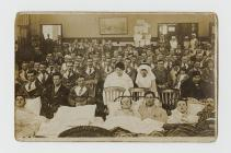 Photograph in hospital