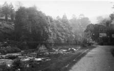Llangollen. River Dee