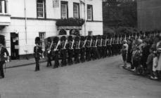 Llangollen. Welsh Guards