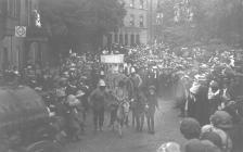 Llangollen. May Day parade