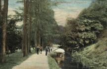 Llangollen. The Canal.