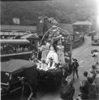 Llangollen. May Day Queen 1953