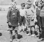 Rhondda children at Dinas Recreation Ground, 1930s