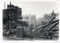 College Street, Swansea, Second World War