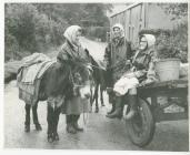 Penclawdd cocklewomen Swansea