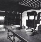 Interior view of Cilewent Ffarmhouse