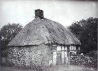 Exterior view of Abernodwydd Farmhouse