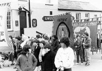 Demonstration in support of the miners, Blaenau...