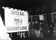 The march back to work, Maerdy, Rhondda