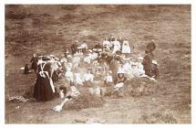 Picnic, Peniel Chapel, Aberaeron, 1907
